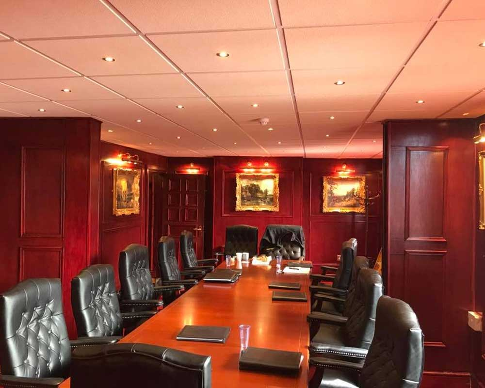 commercial electrical boardroom lighting